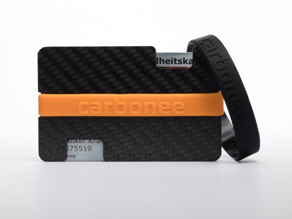 carbonée/black/orange