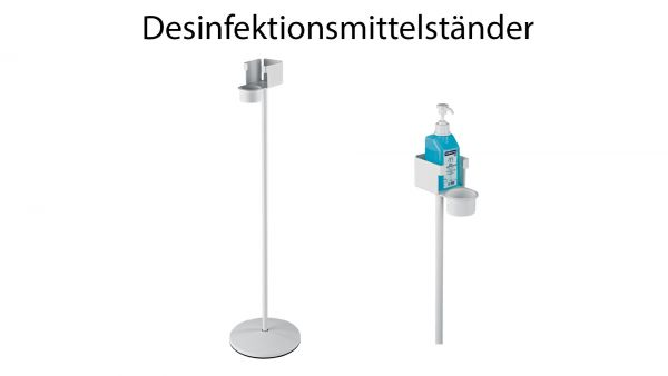 Desinfektionsmittelständer